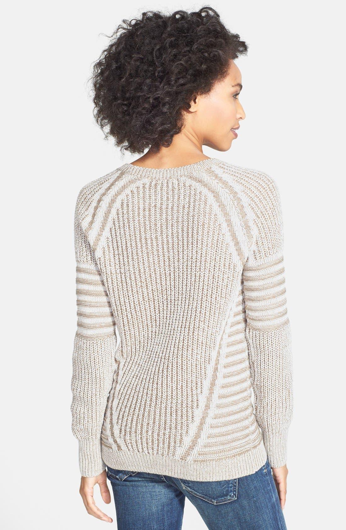 Alternate Image 2  - Halogen® Marled Crewneck Sweater
