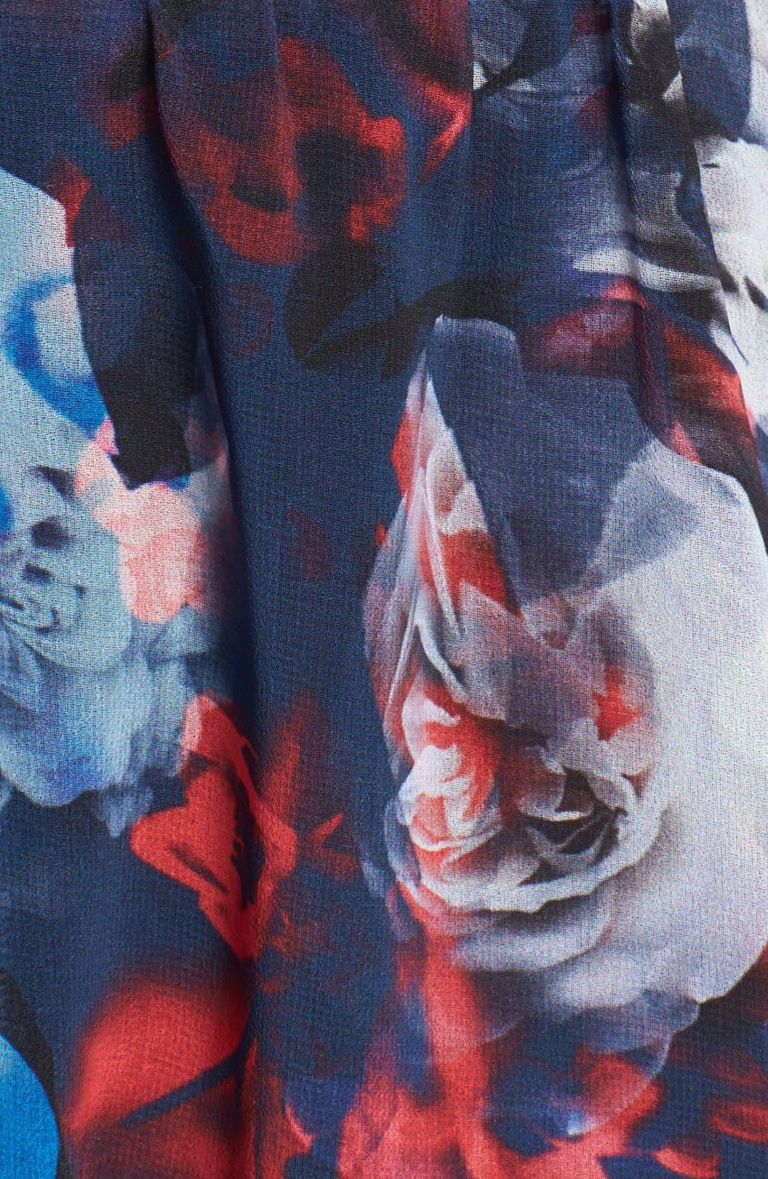 Alternate Image 3  - Bardot Floral Print Fit & Flare Dress (Nordstrom Exclusive)