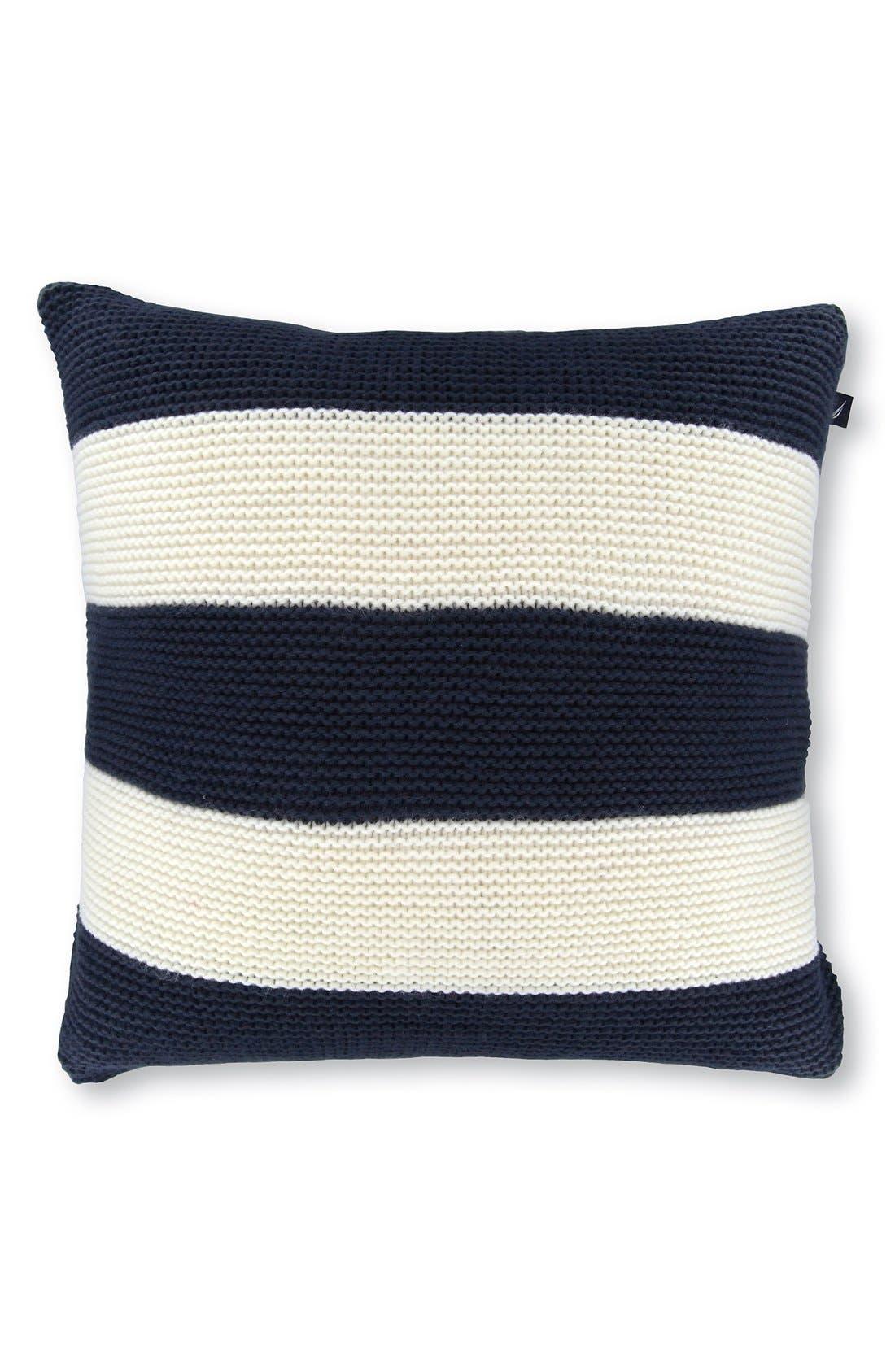 Alternate Image 1 Selected - Nautica Striped Pillow