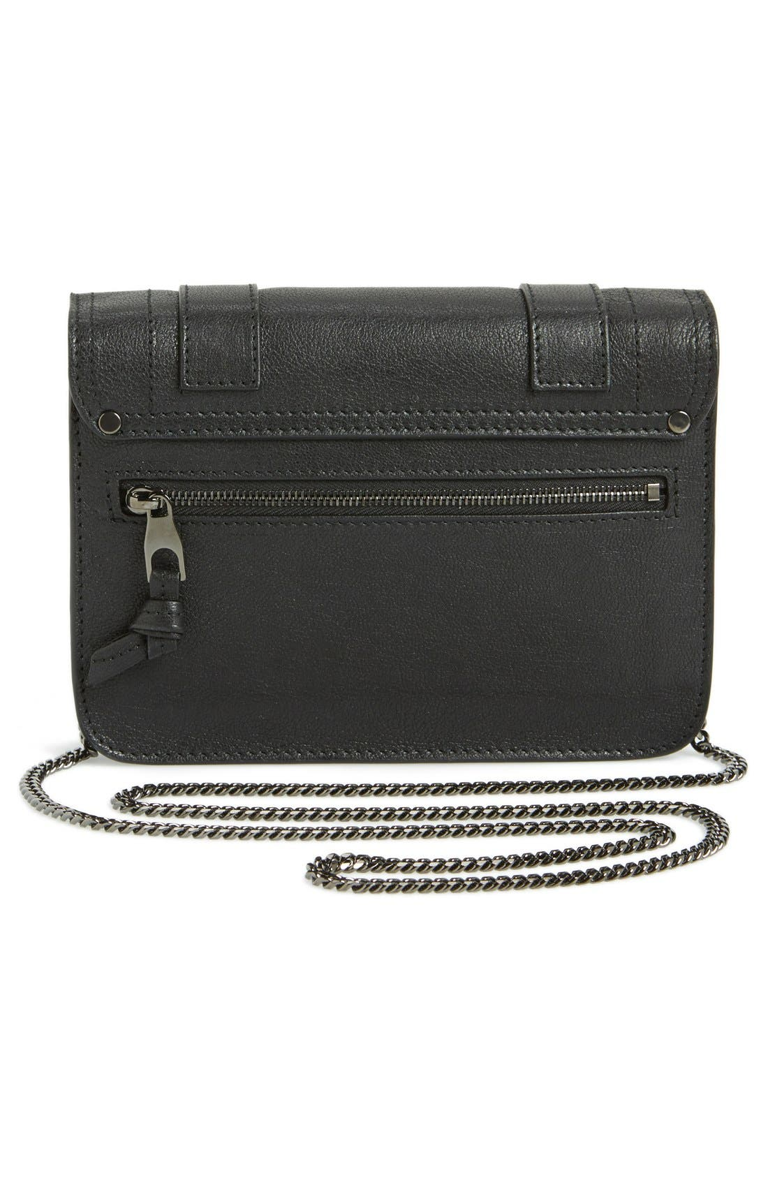 Alternate Image 4  - Proenza Schouler 'Large PS1' Leather Crossbody Wallet