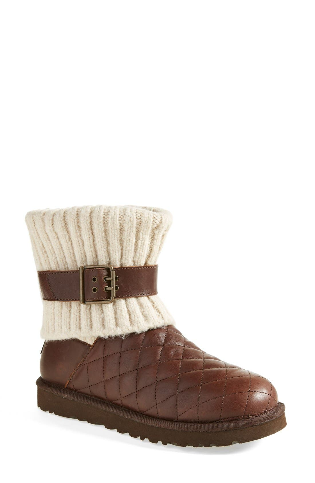 Alternate Image 1 Selected - UGG® Australia 'Cambridge' Diamond Quilt Boot (Women)