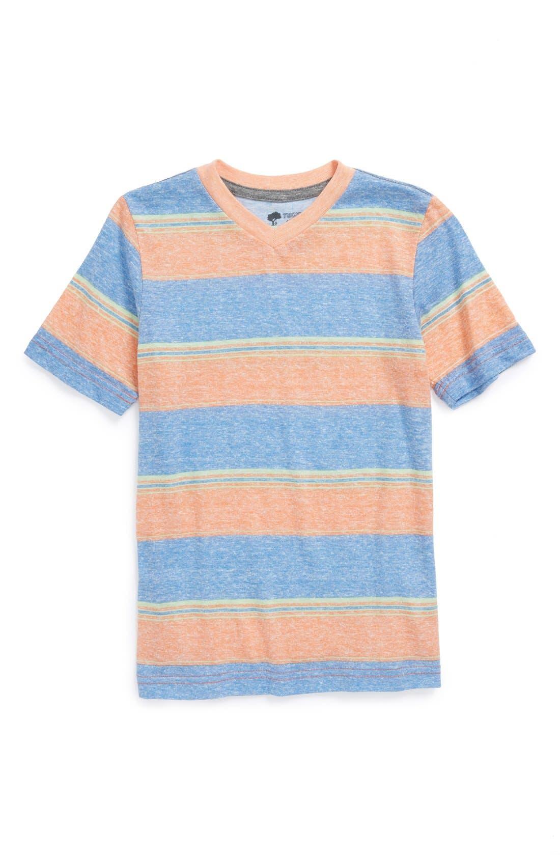 Alternate Image 1 Selected - Tucker + Tate 'Wallace' V-Neck T-Shirt (Toddler Boys)