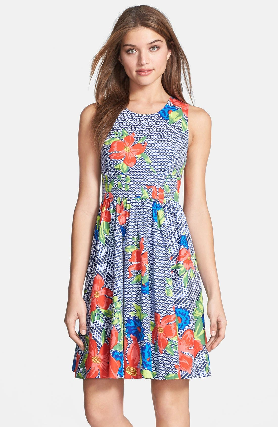 Alternate Image 1 Selected - Plenty by Tracy Reese 'Alana' Print Fit & Flare Dress