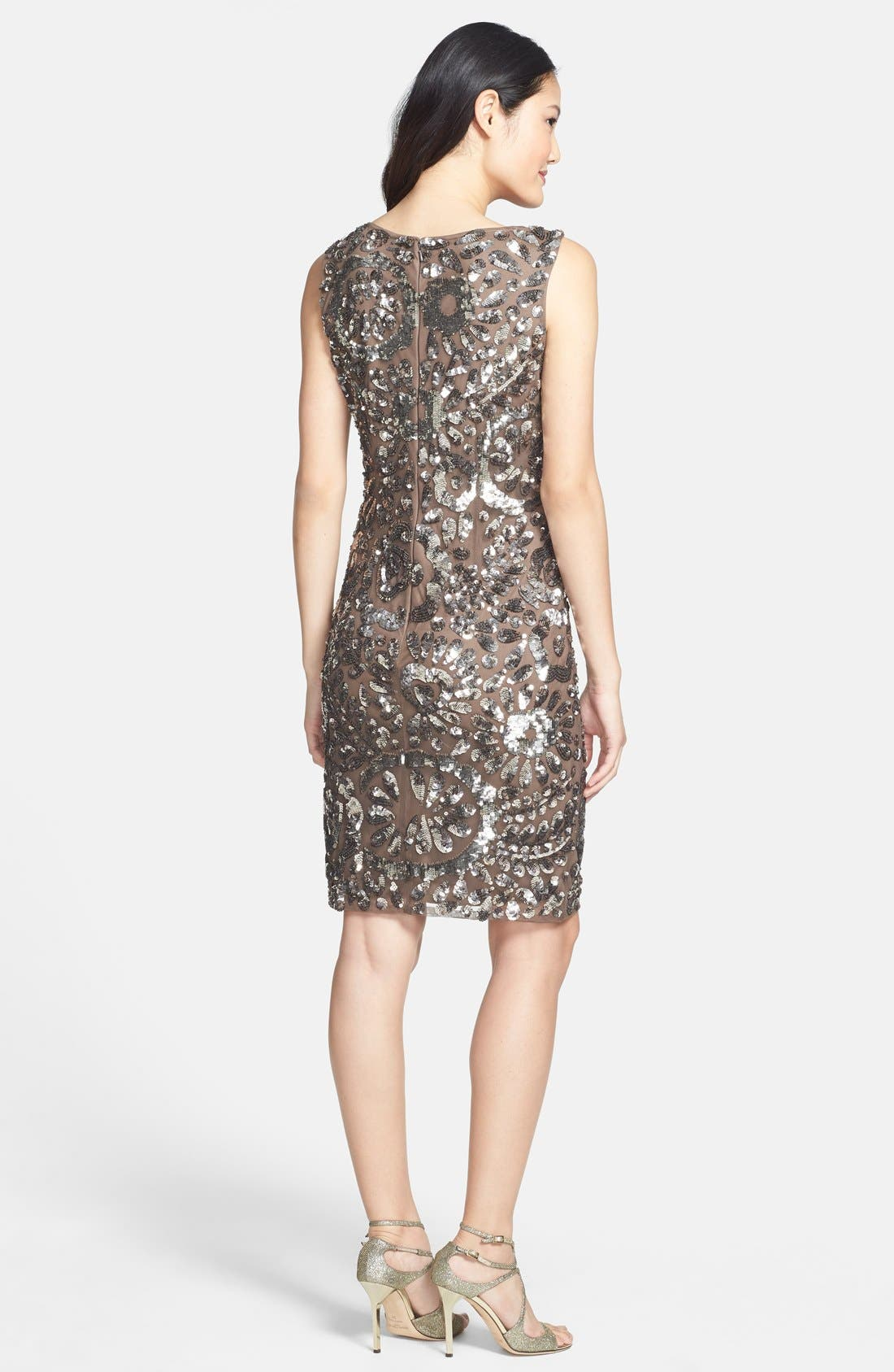 Alternate Image 2  - Pisarro Nights Sequin Sheath Dress