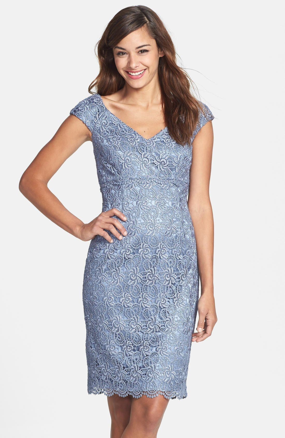 Main Image - Patra Crochet Sheath Dress