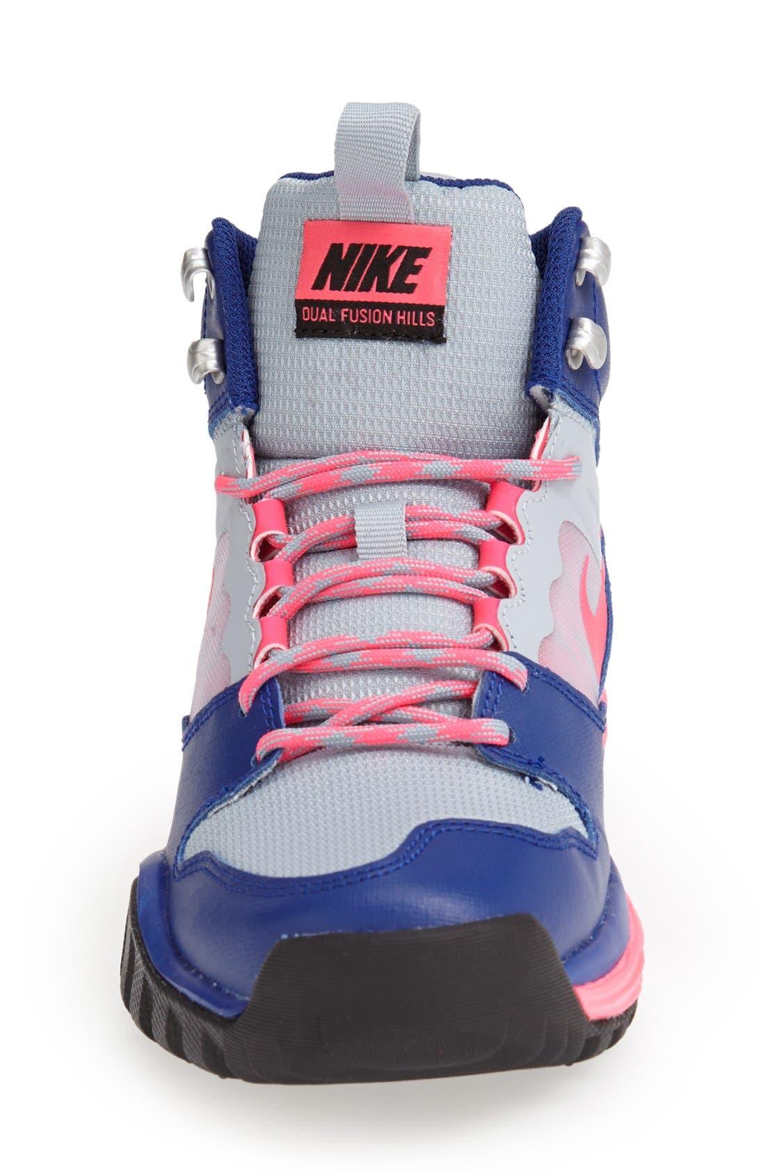 Alternate Image 3  - Nike 'Dual Fusion Hills Mid' Walking Shoe (Women)