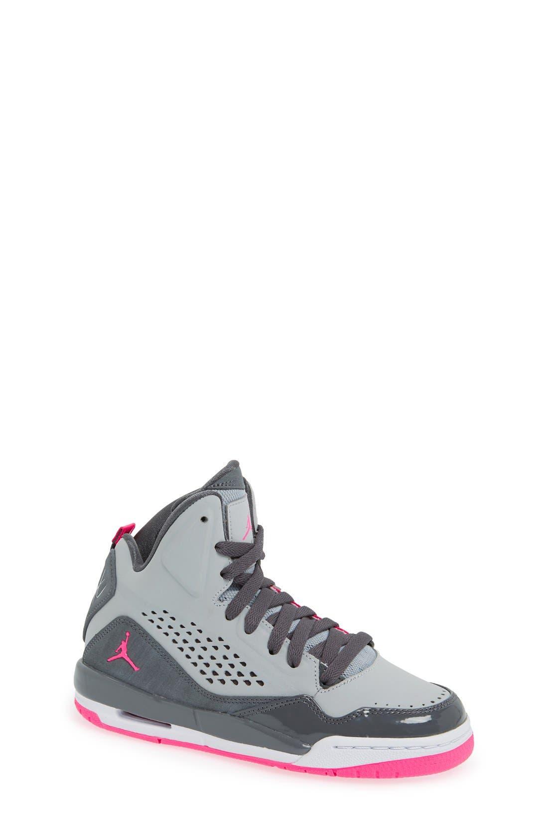Alternate Image 1 Selected - Nike 'Jordan SC3' Basketball Shoe (Big Kid)