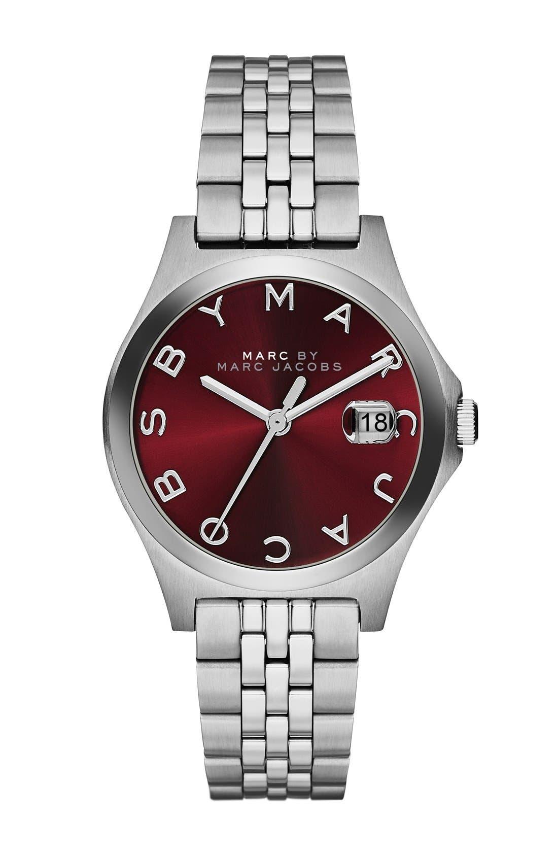 Alternate Image 1 Selected - MARC JACOBS 'The Slim' Bracelet Watch, 30mm