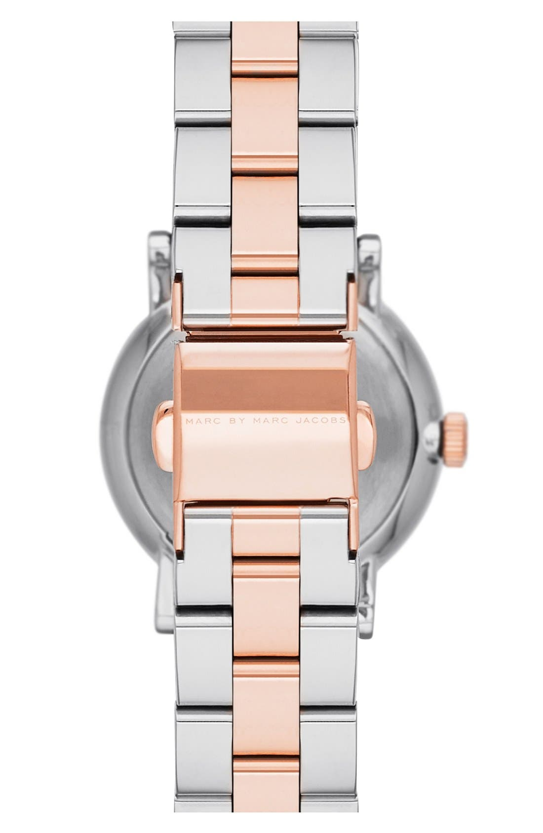 Alternate Image 2  - MARC JACOBS 'Baker' Round Bracelet Watch, 28mm