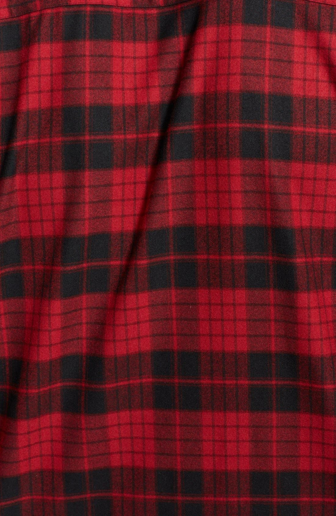 Alternate Image 3  - The Kooples Band Collar Plaid Flannel Shirt