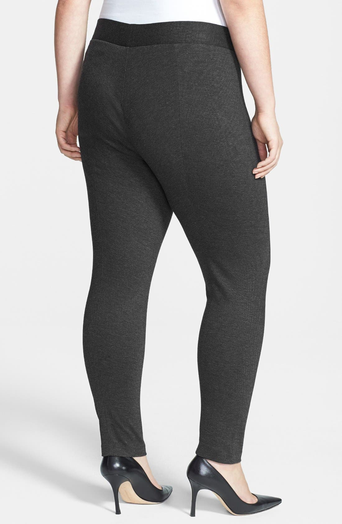 Alternate Image 2  - Two by Vince Camuto Leggings (Plus Size)