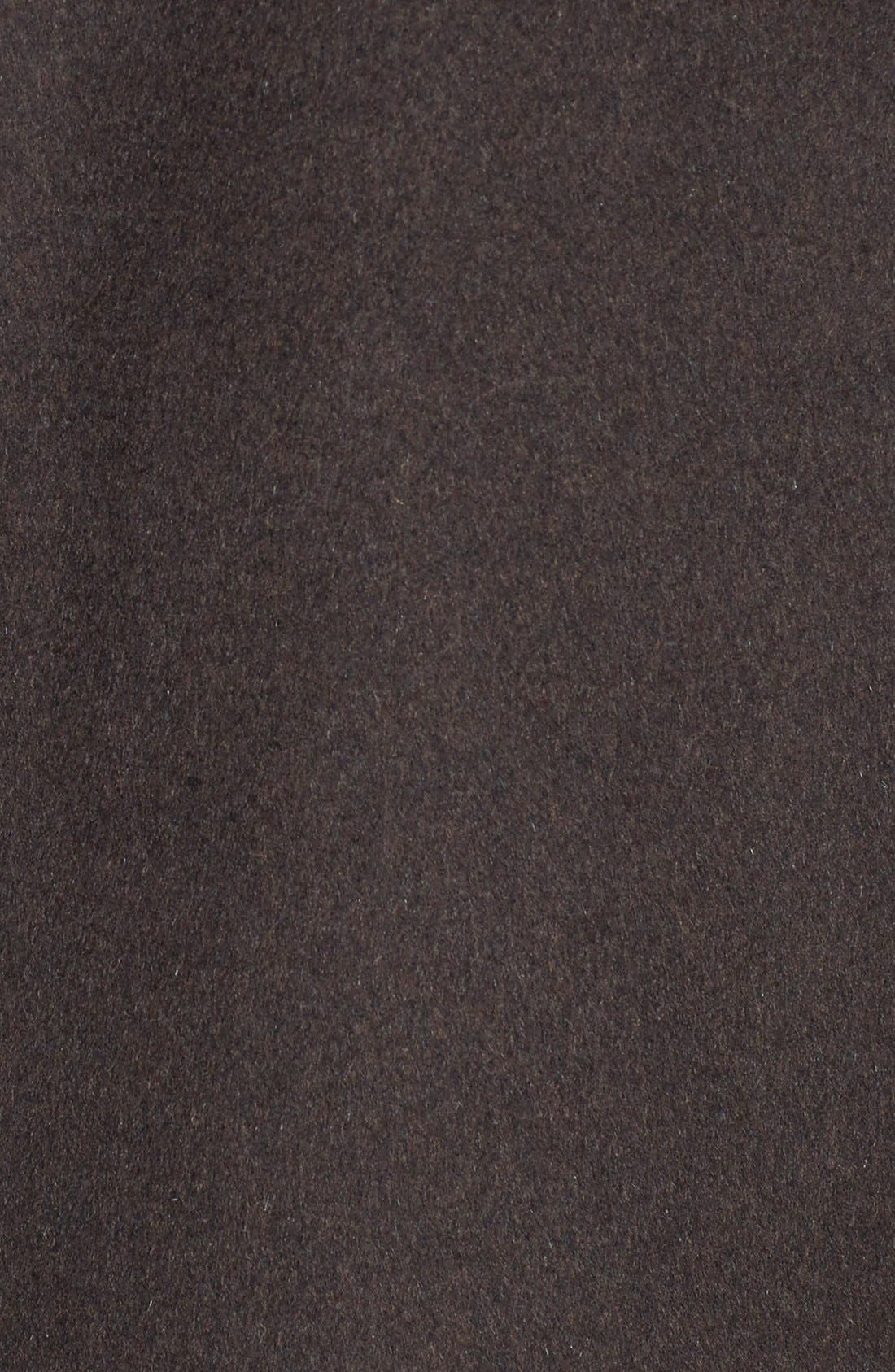 Alternate Image 3  - Ellen Tracy Funnel Collar Wool Blend Topper (Regular & Petite) (Nordstrom Exclusive)