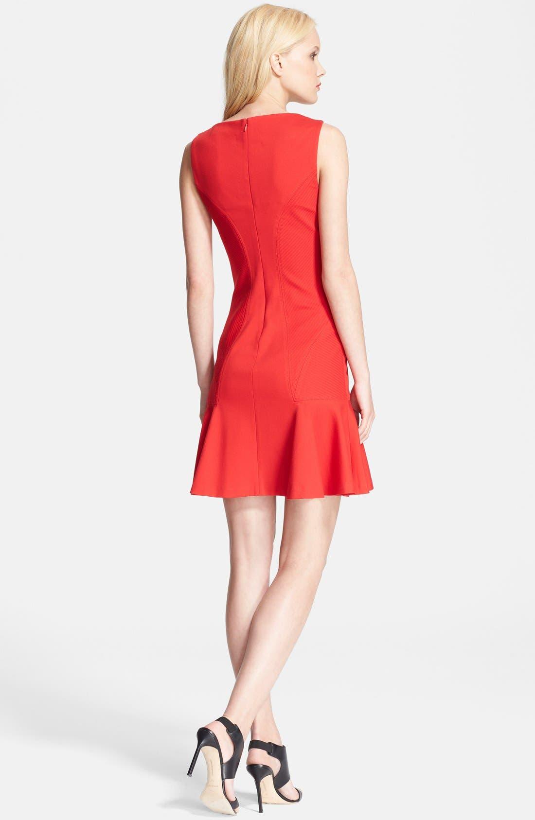 Alternate Image 2  - Diane von Furstenberg 'Carla' Knit Fit & Flare Dress