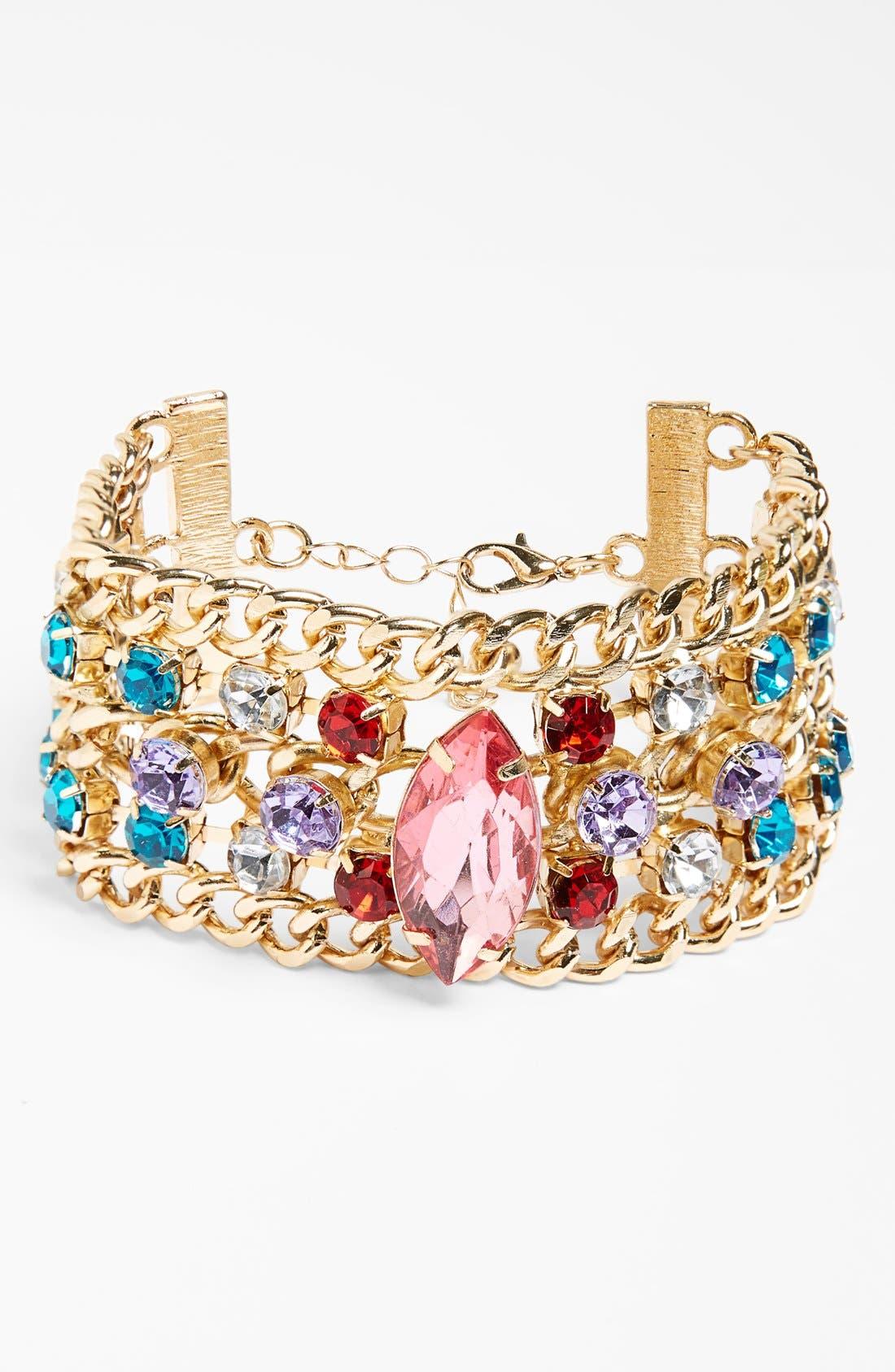 Alternate Image 1 Selected - Tildon Chain Link Cuff Bracelet