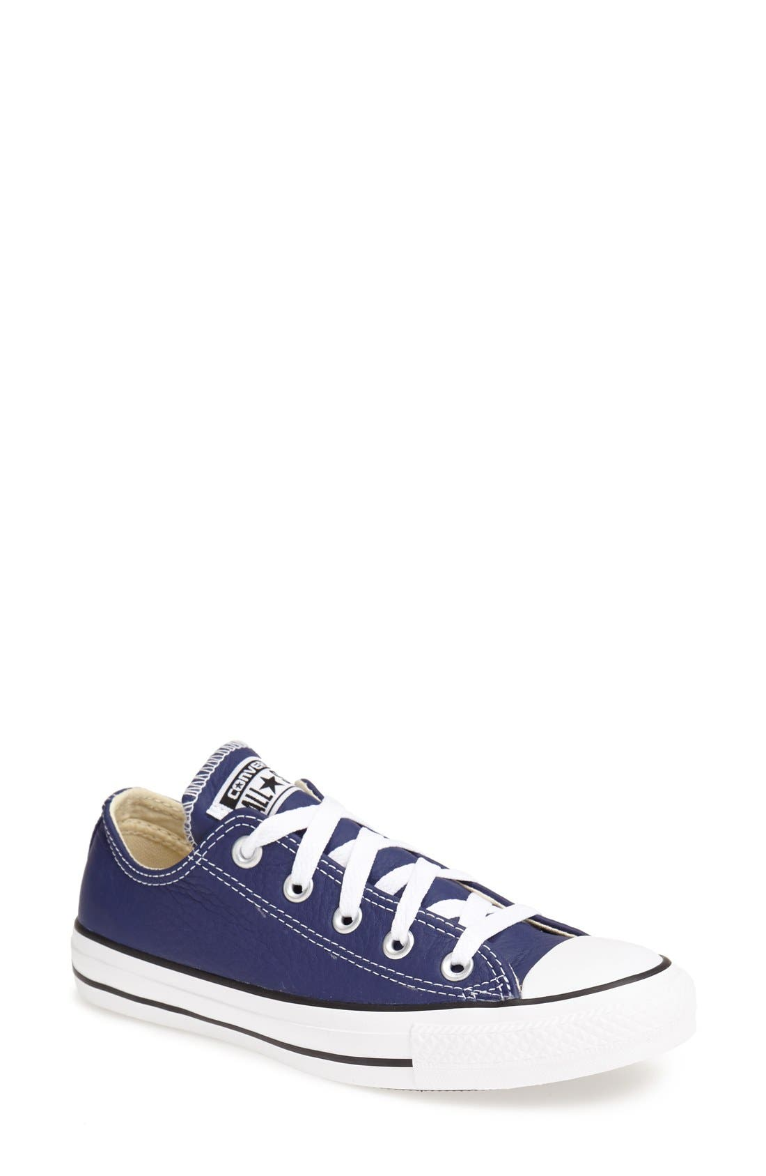 Alternate Image 1 Selected - Converse Chuck Taylor® All Star® 'Ox' Leather Sneaker (Women)
