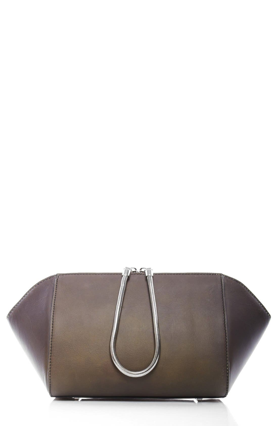 Alternate Image 1 Selected - Alexander Wang 'Large Chastity' Leather Clutch