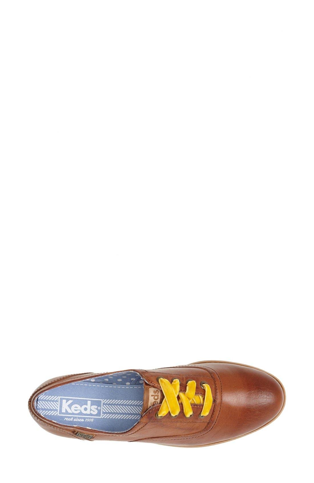 Alternate Image 3  - Keds® 'Boyfriend' Leather Oxford (Women)