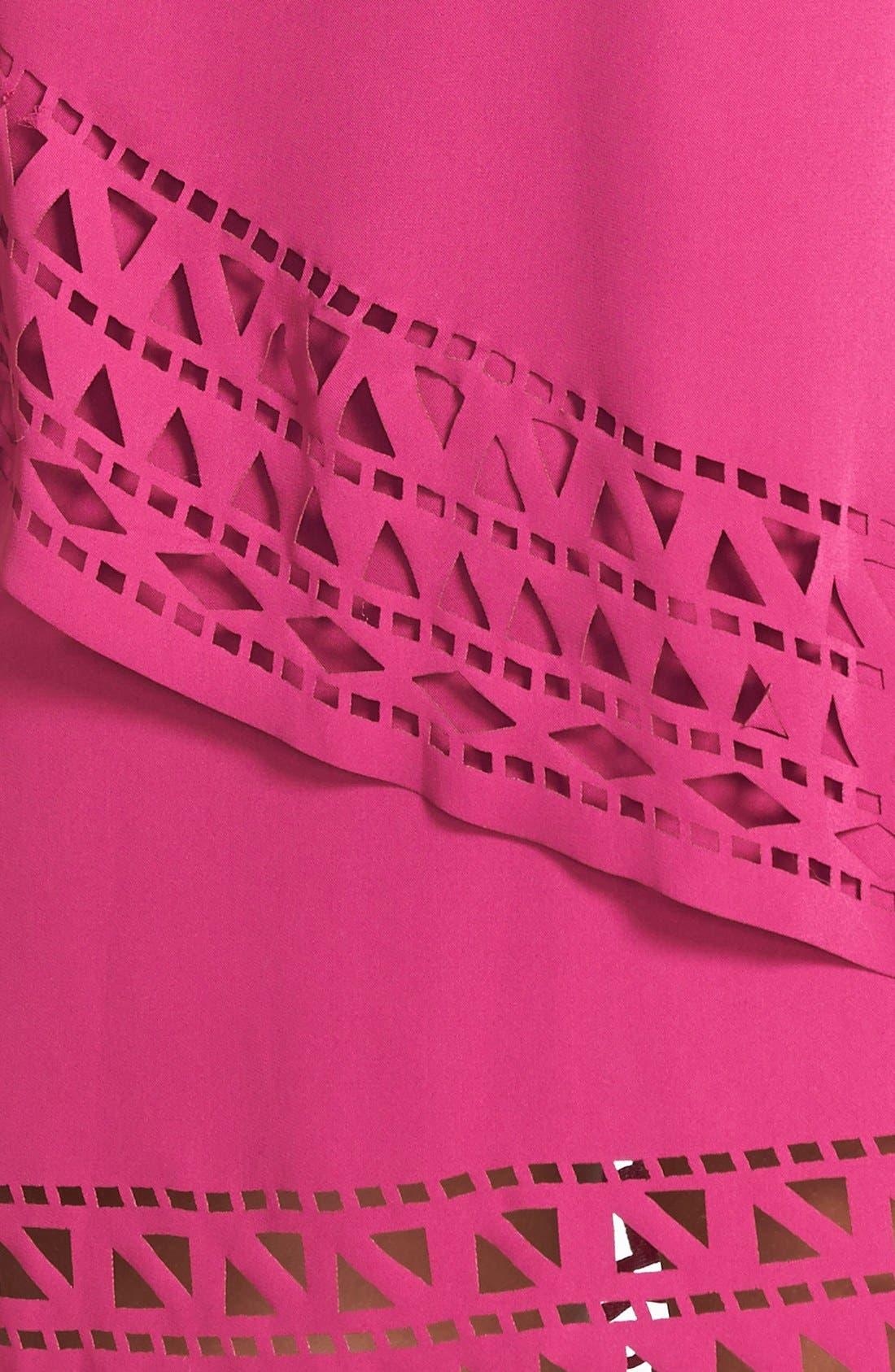 Alternate Image 4  - Jarlo 'Chloe' Tiered Jersey Trapeze Dress