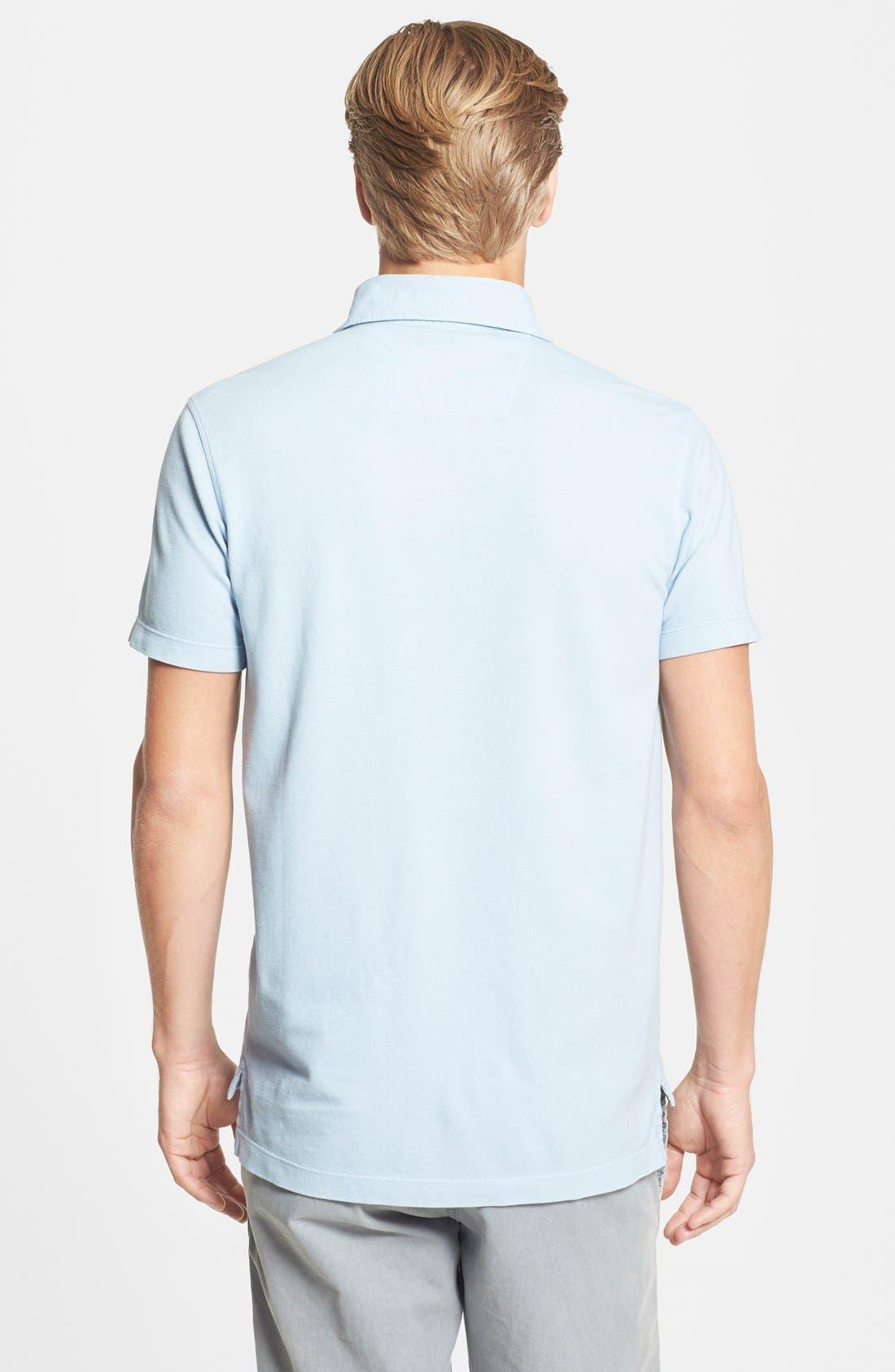 Alternate Image 2  - Tailor Vintage Regular Fit Piqué Cotton Polo