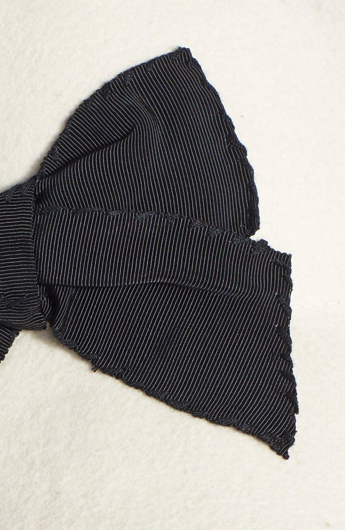 Alternate Image 2  - kate spade new york wool felt cloche