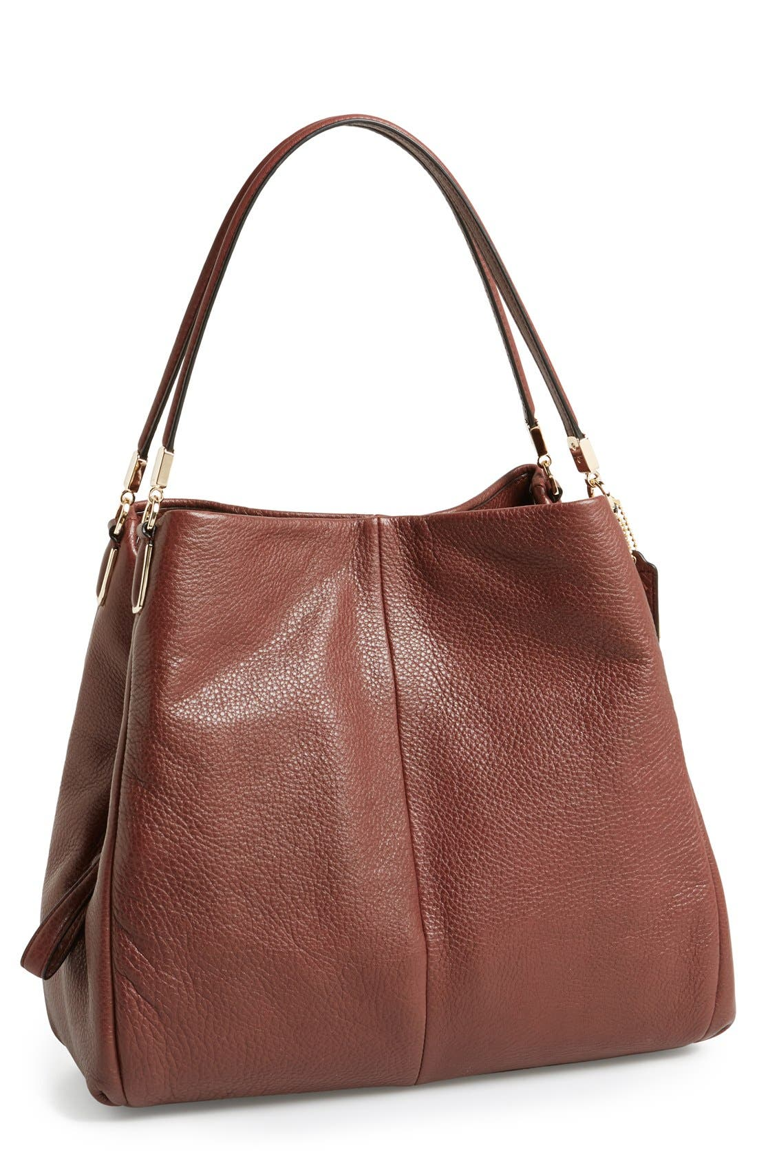 Alternate Image 1 Selected - COACH 'Small Madison Phoebe' Leather Shoulder Bag