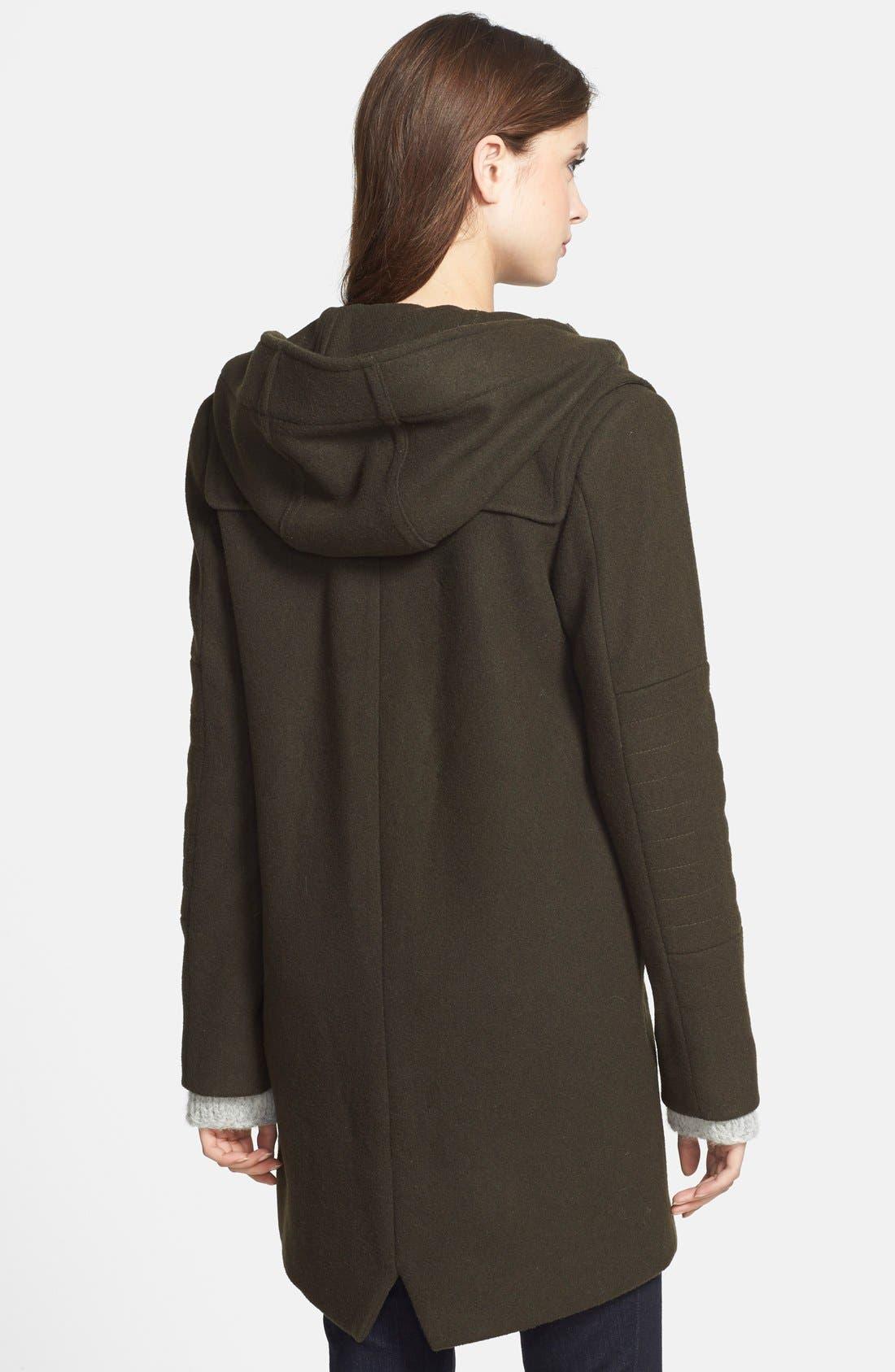 Alternate Image 3  - Vince Camuto Wool Blend Duffle Coat