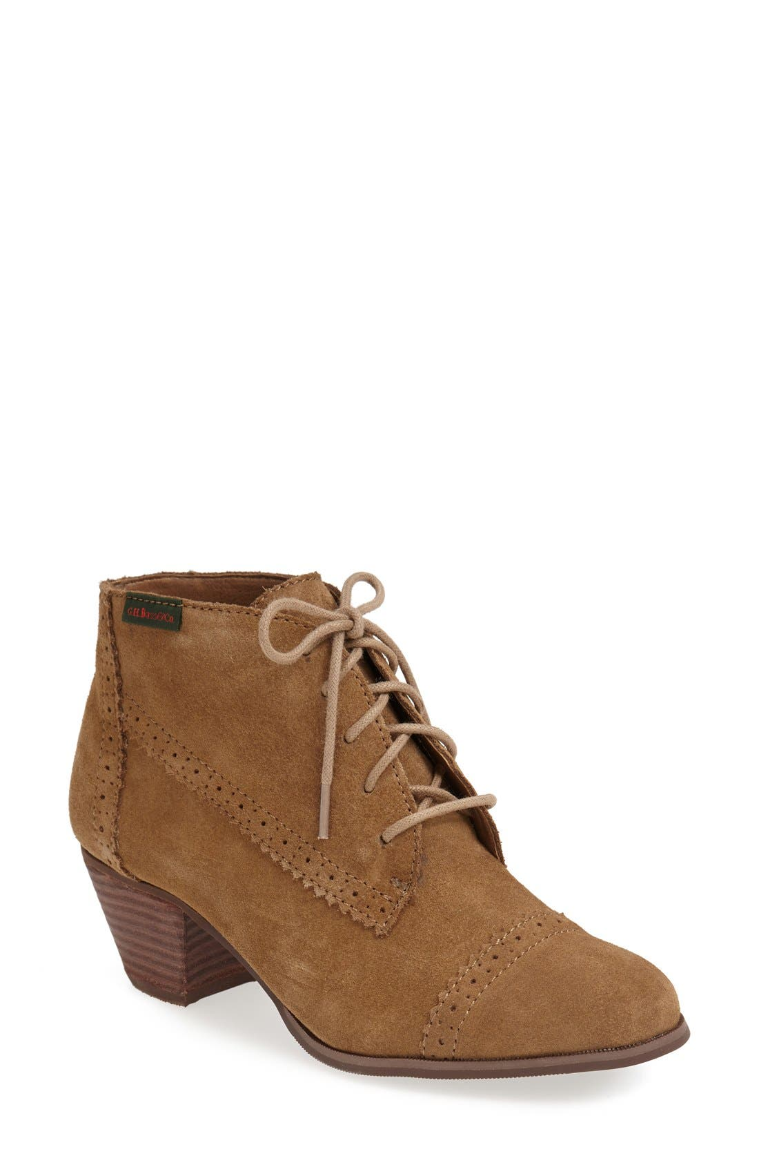 Alternate Image 1 Selected - G.H. Bass & Co. 'Porter' Suede Bootie (Women)