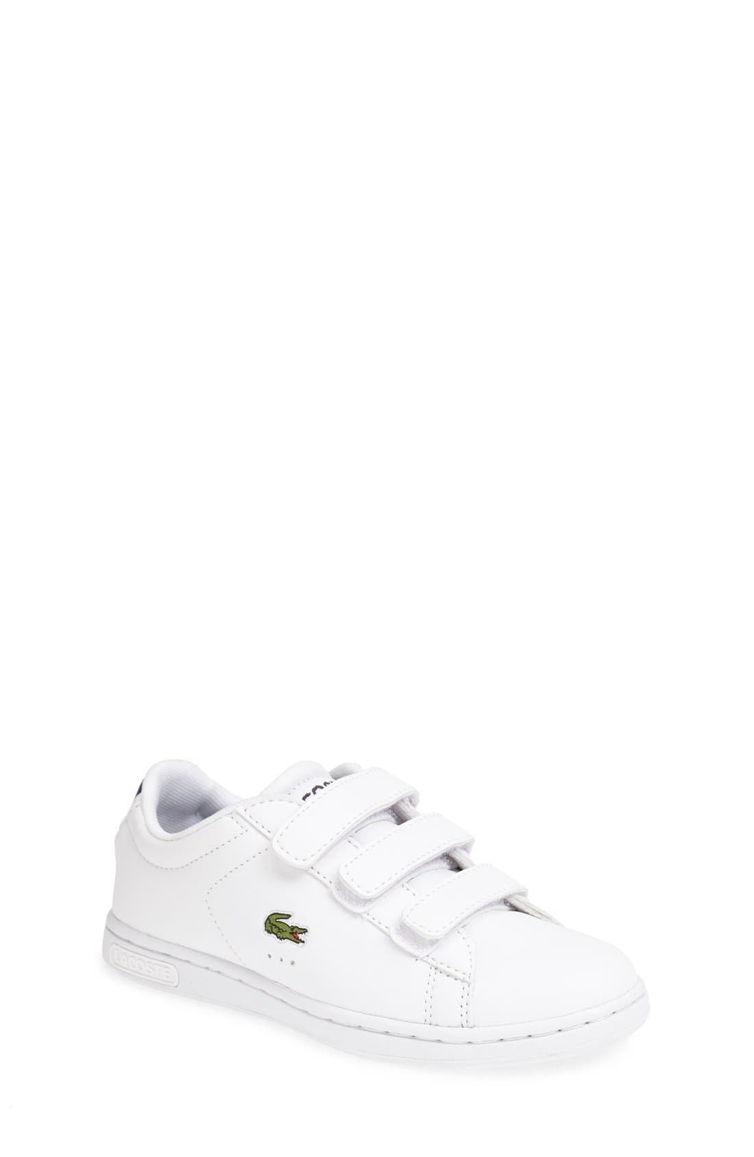 Main Image - Lacoste 'Carnaby' Sneaker (Toddler & Little Kid)