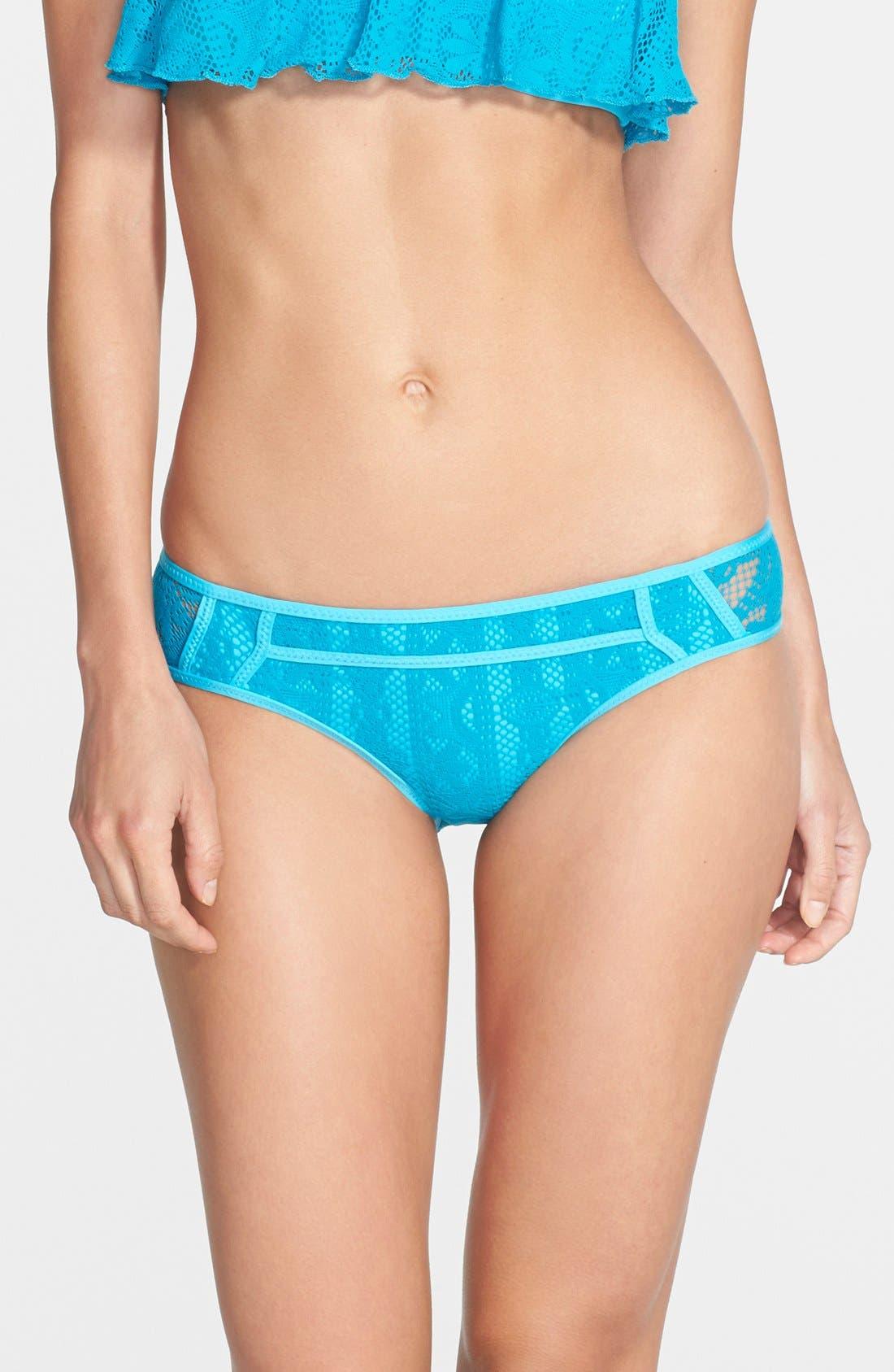 Alternate Image 1 Selected - Becca 'Show & Tell' Crochet Bikini Bottoms