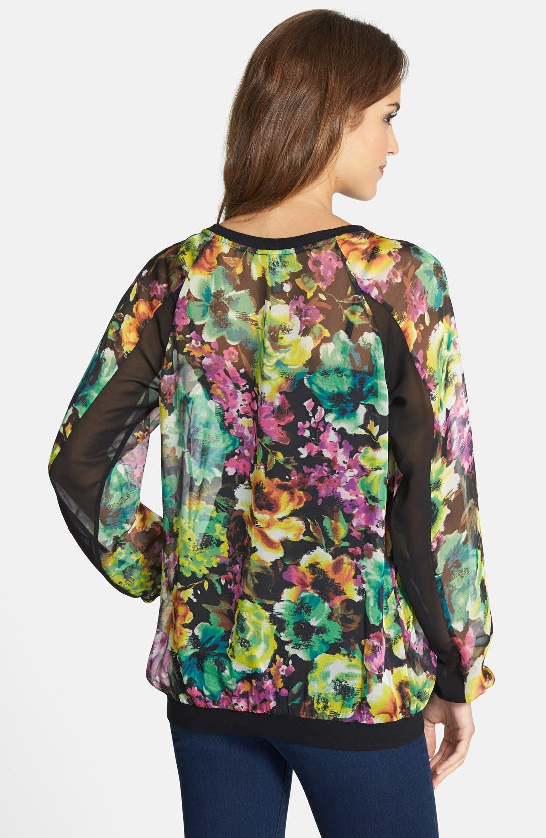 Alternate Image 2  - KUT from the Kloth 'Naomi' Floral Print Top