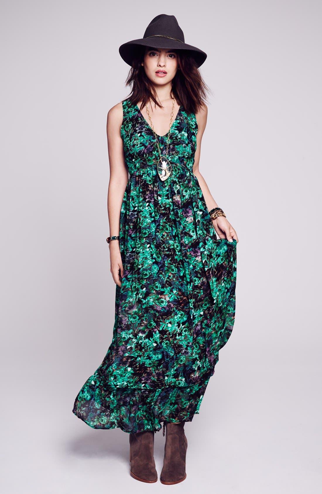 Alternate Image 4  - Sleeveless Slit Maxi Dress