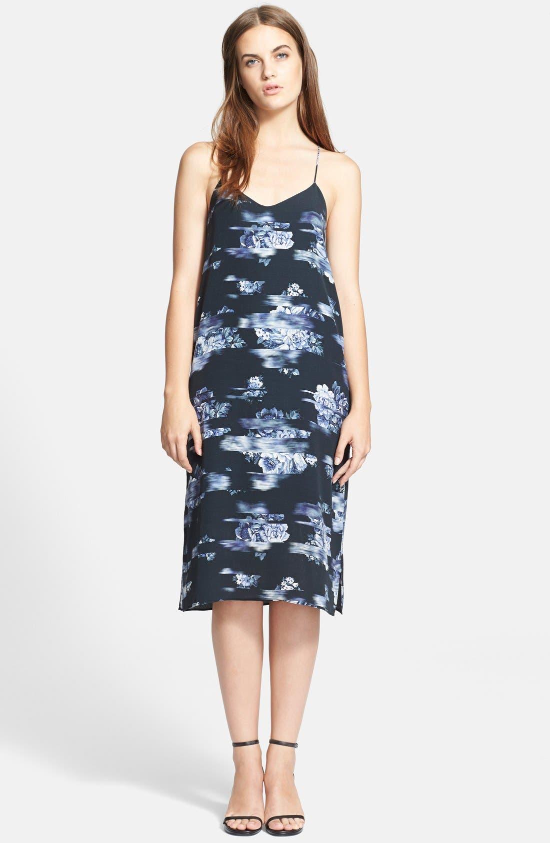 Alternate Image 1 Selected - Tibi 'Floreale' Slip Dress