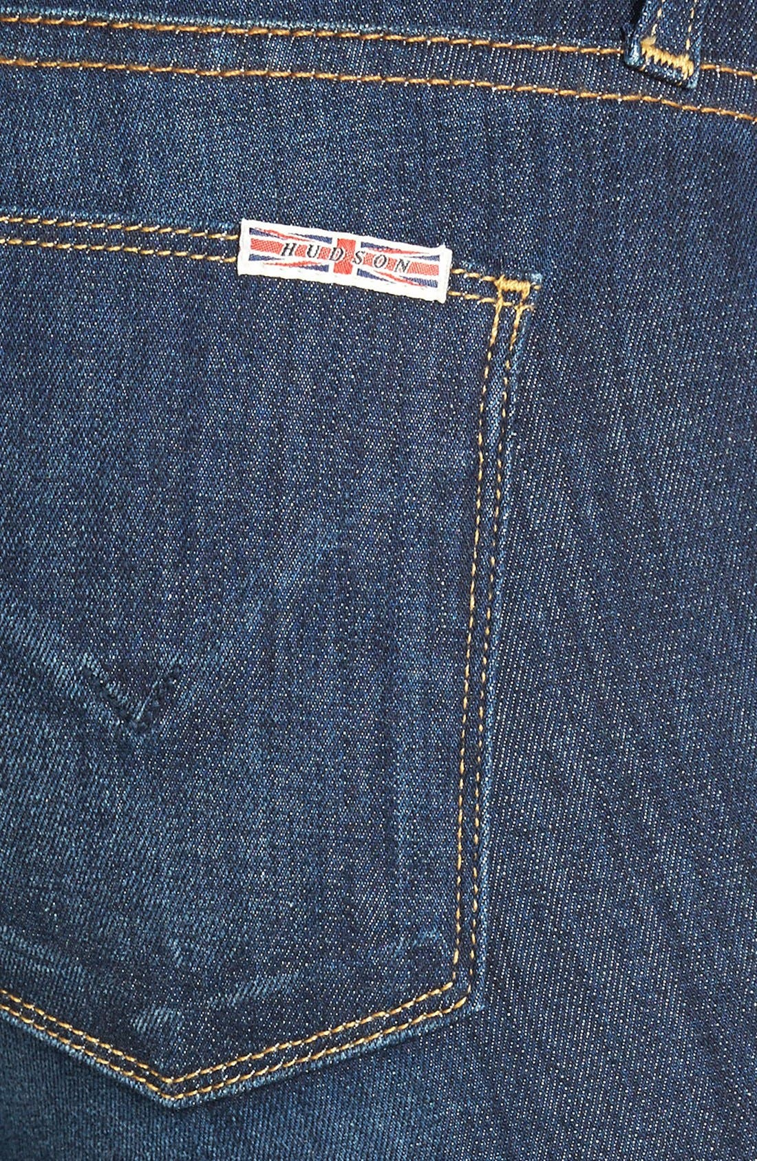 Alternate Image 3  - Hudson Jeans 'Collette' Skinny Jeans (Stella)