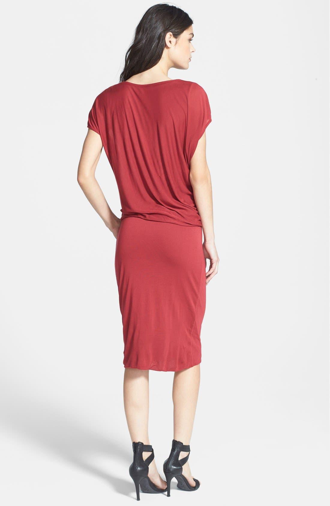 Alternate Image 2  - Velvet by Graham & Spencer Blouson Dress