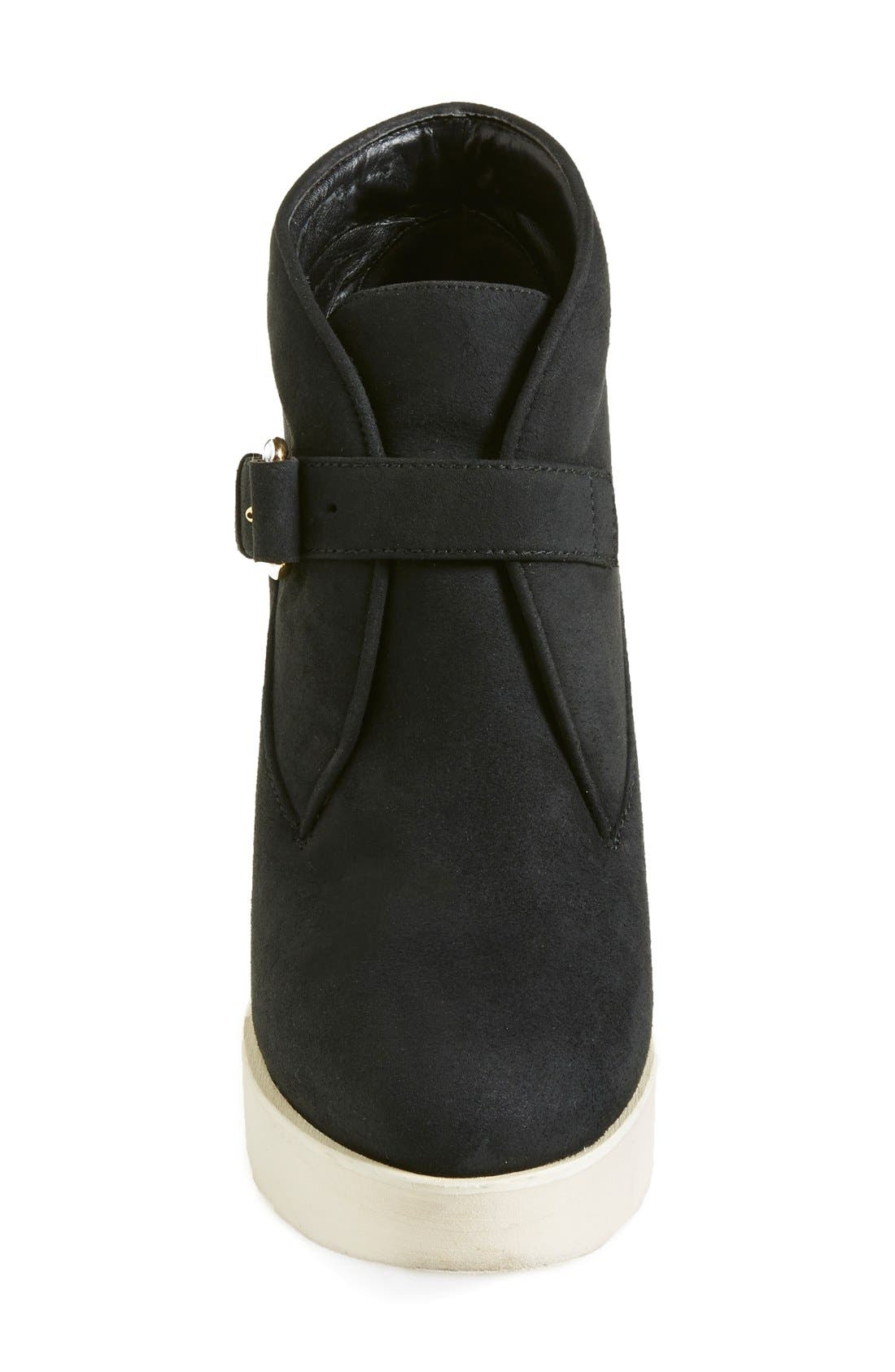 Alternate Image 3  - Stella McCartney Monk Strap Wedge Bootie (Women)