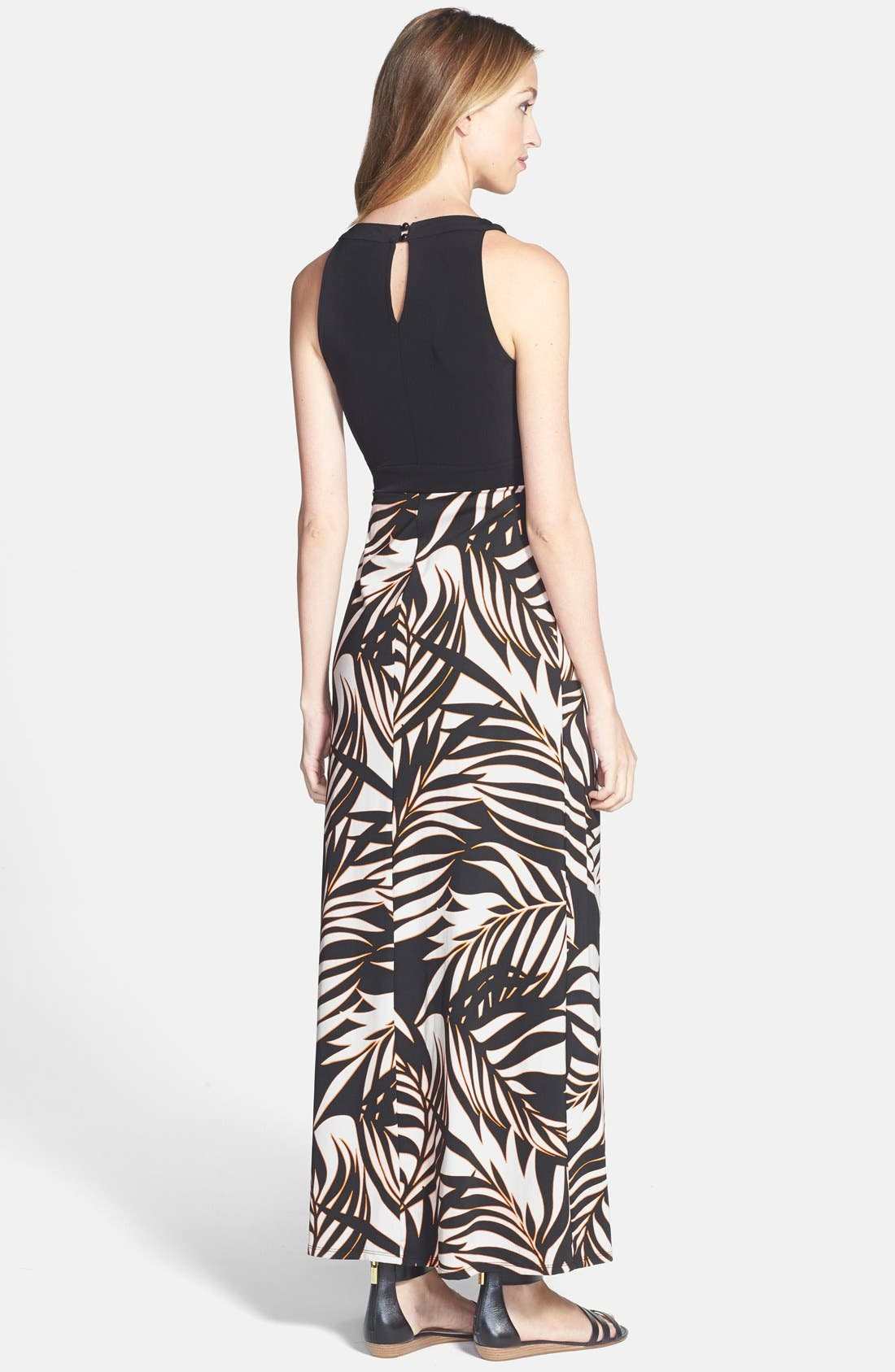 Alternate Image 2  - Wallis 'Flash Palm' Maxi Dress