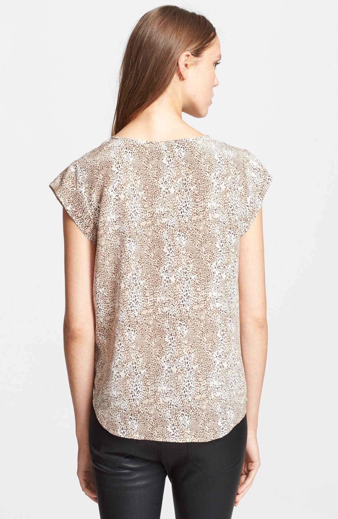 Alternate Image 2  - Joie 'Linny' Print Silk Top
