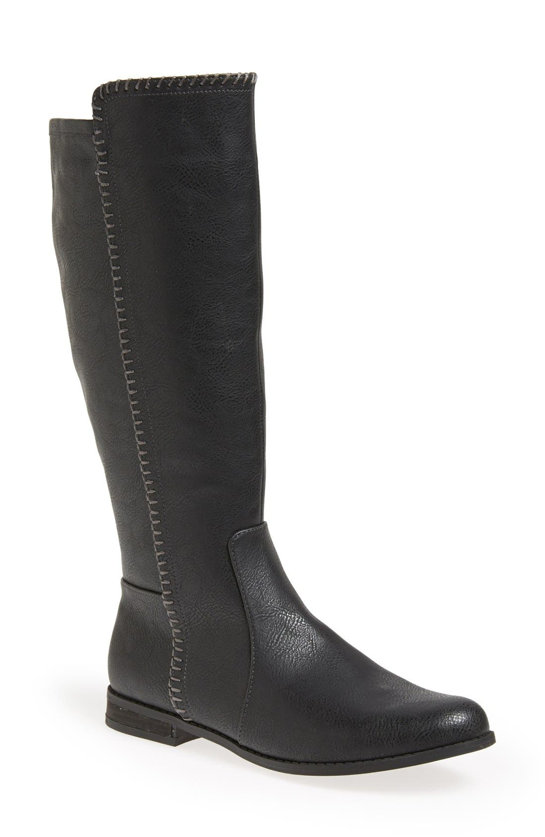 Alternate Image 1 Selected - Dr. Scholl's 'Confess' Riding Boot (Women) (Wide Calf)