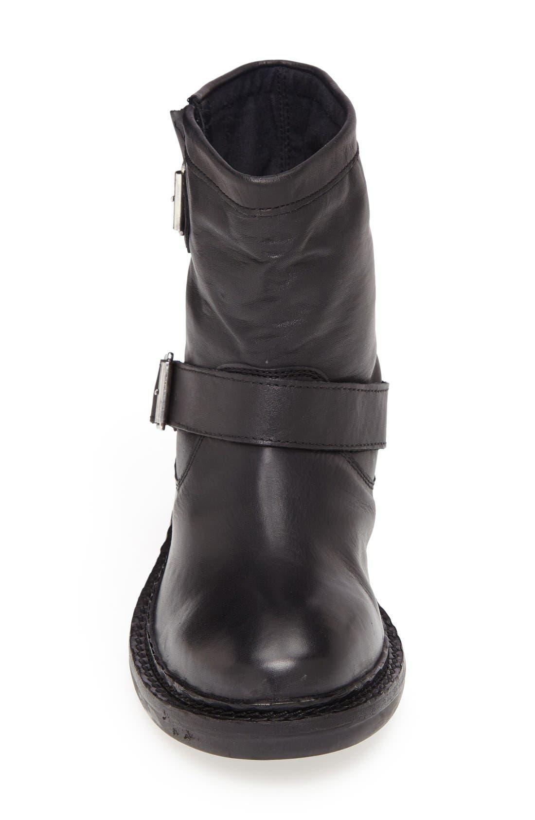 Alternate Image 3  - Topshop 'Animal' Biker Boot (Women)