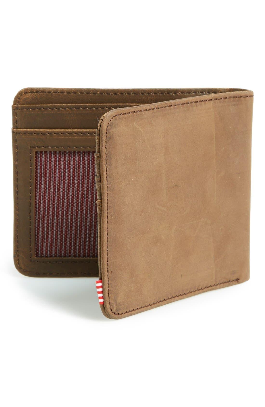 Alternate Image 3  - Herschel Supply Co. Hank Leather Bifold Wallet