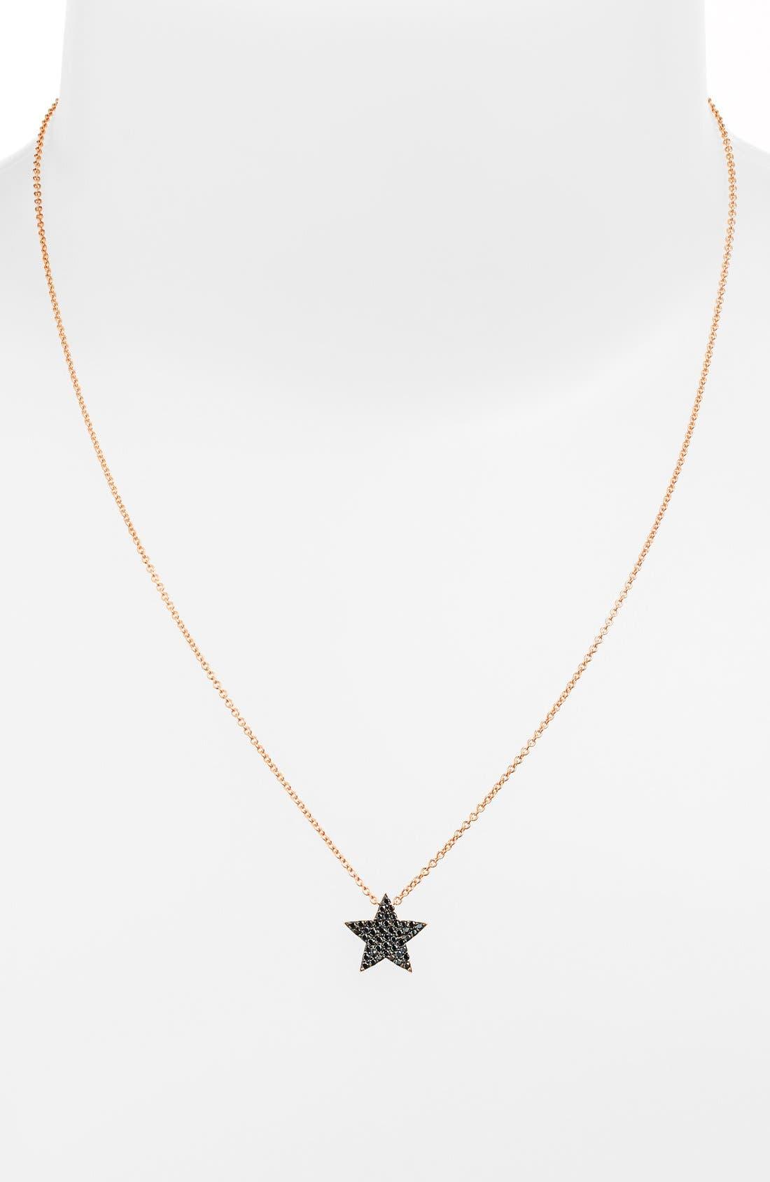Main Image - Sugar Bean Jewelry Star Pendant Necklace