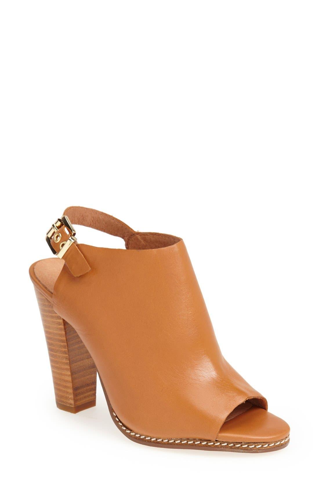 Alternate Image 1 Selected - Halogen 'Sasha' Leather Sandal (Women)