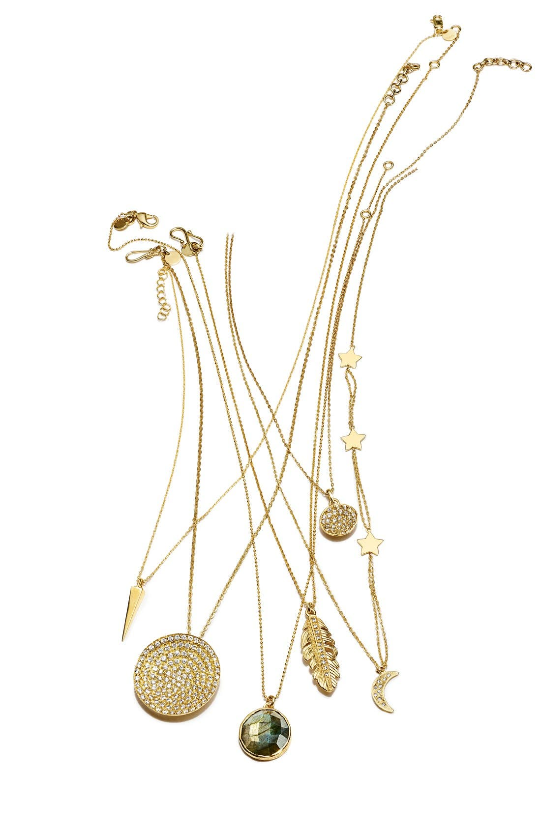 Alternate Image 7  - Melinda Maria 'Mini Nicole' Pendant Necklace