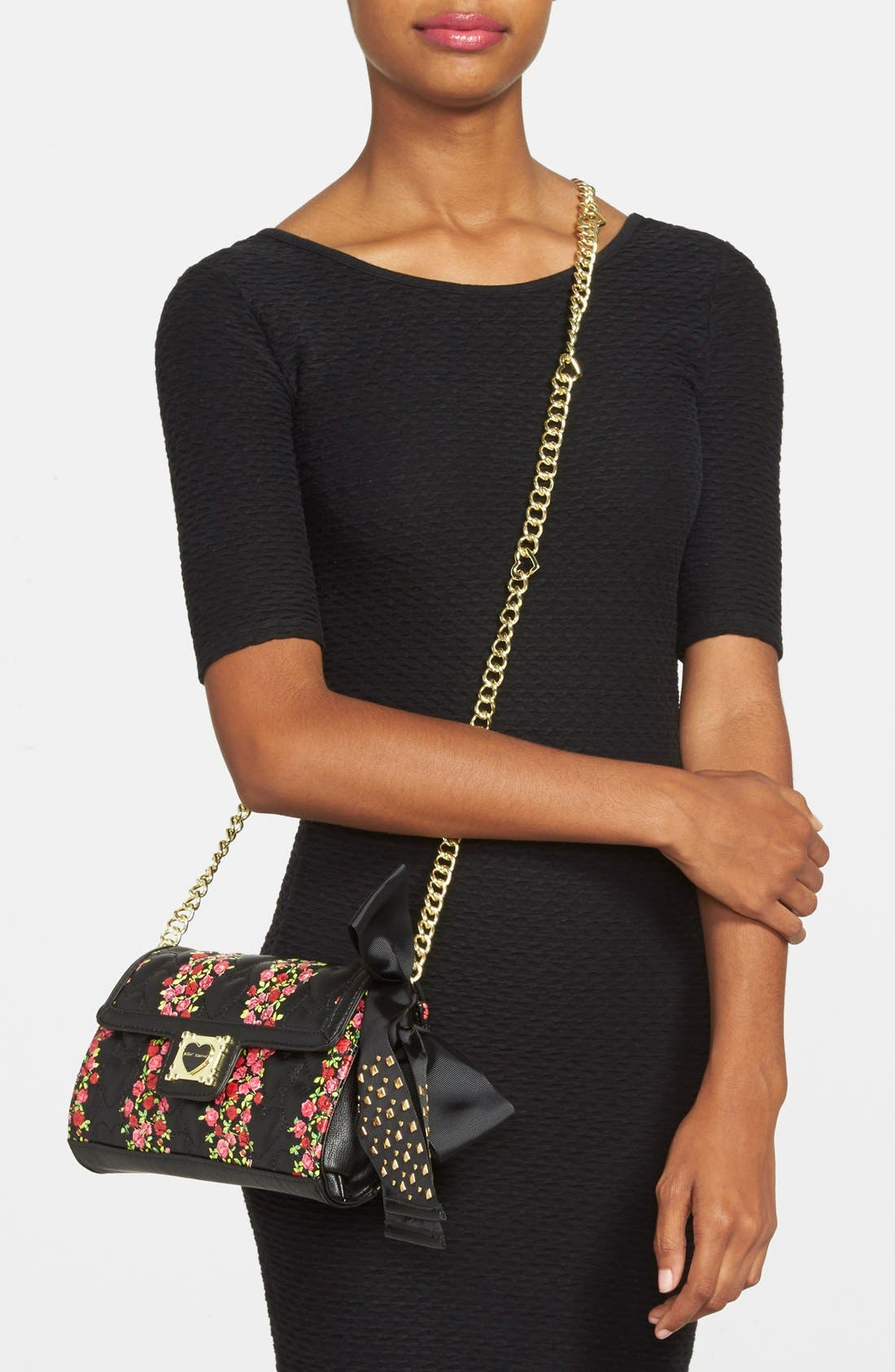 Alternate Image 2  - Betsey Johnson 'Be My Sweetheart' Crossbody Bag