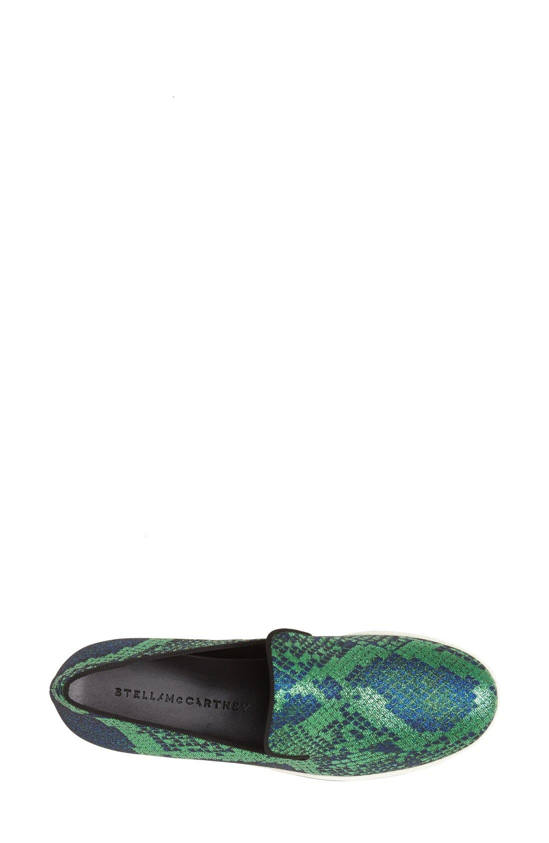 Alternate Image 3  - Stella McCartney Python Print Platform Slip-On Sneaker (Women)