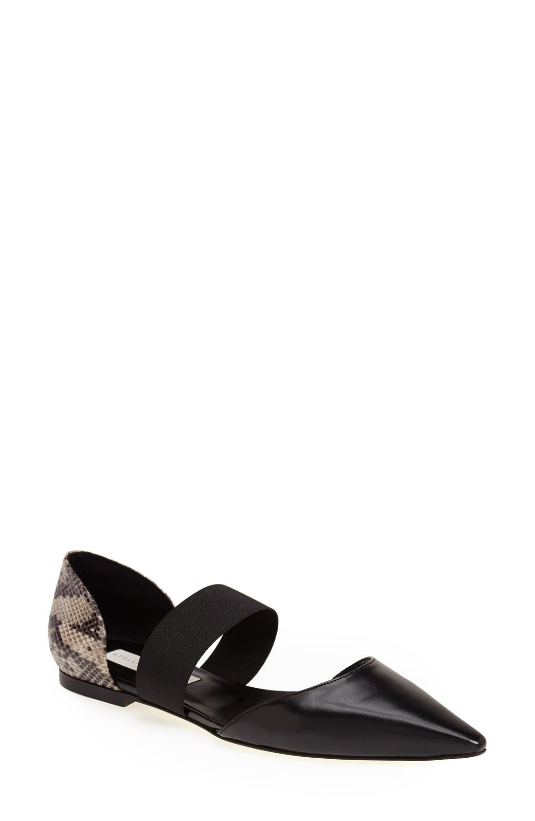Main Image - Stella McCartney Python Print Flat (Women)