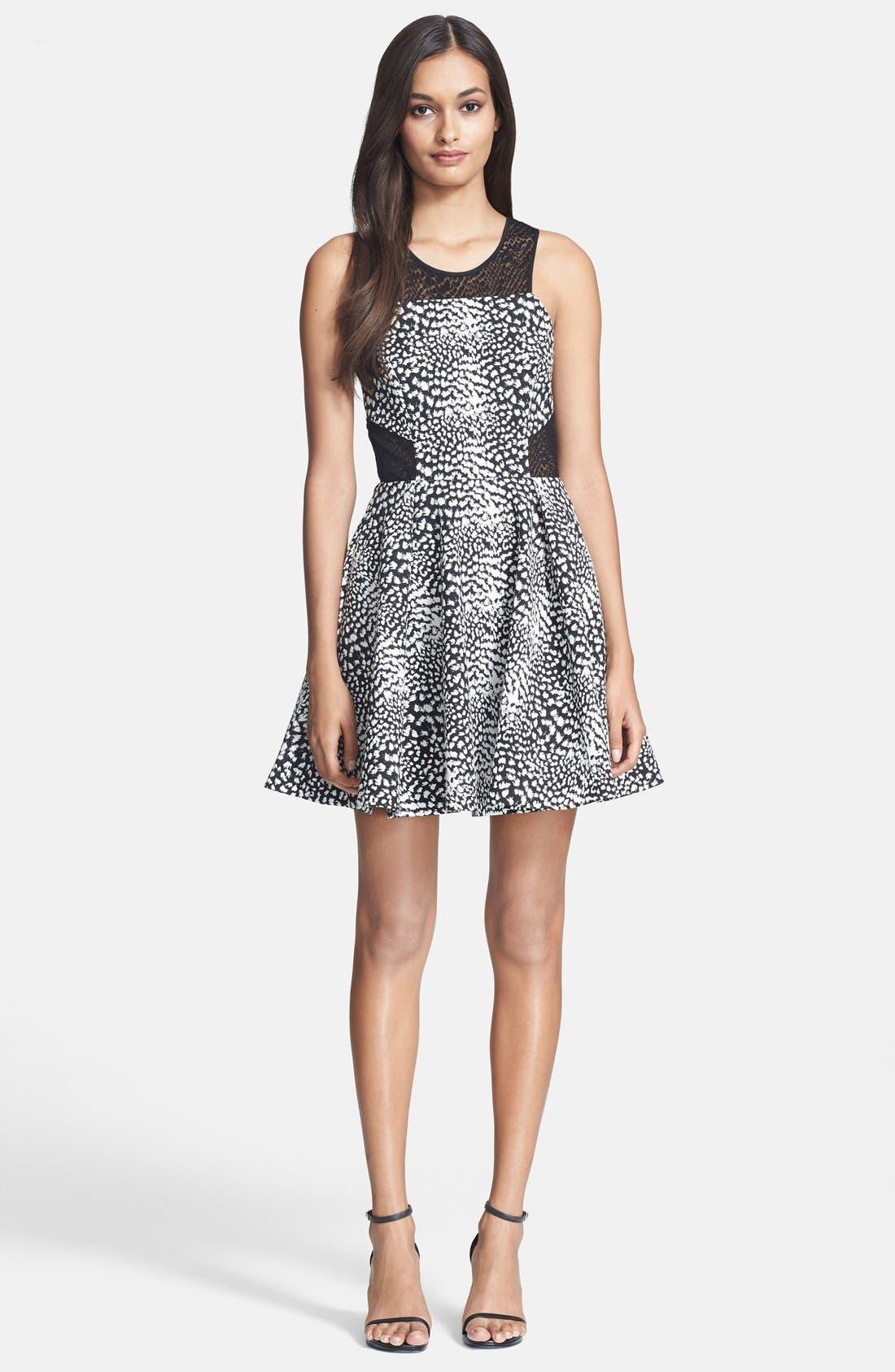 Alternate Image 1 Selected - Parker 'Franco' Fit & Flare Dress