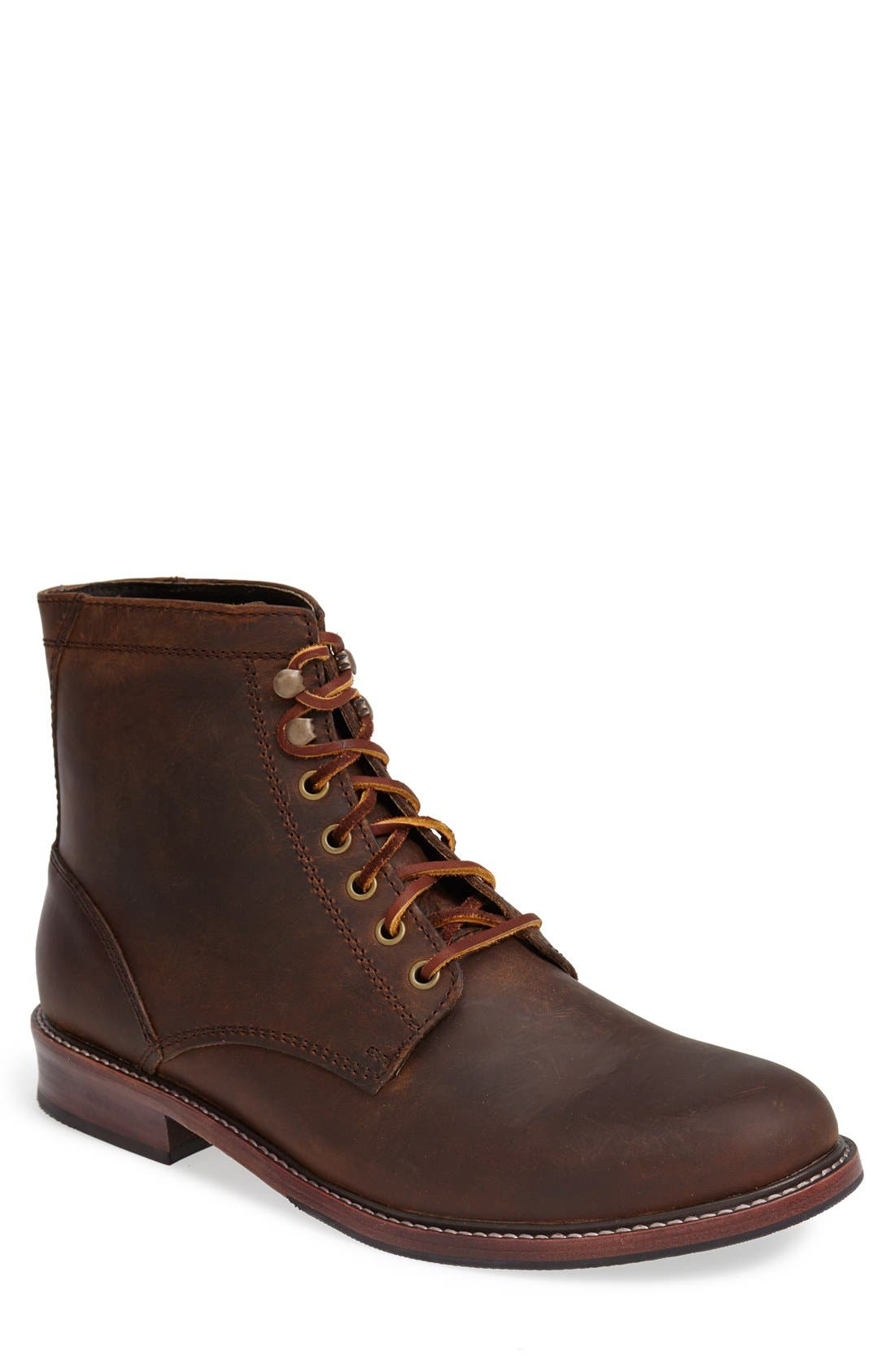 EASTLAND 'Elkton 1955' Plain Toe Boot