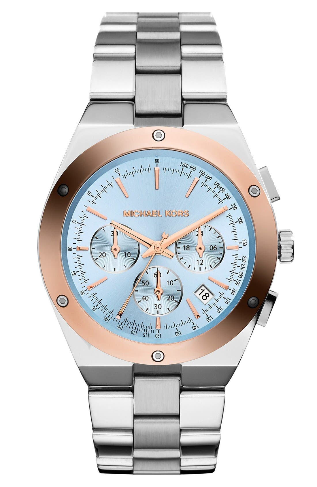 Alternate Image 1 Selected - Michael Kors 'Reagan' Chronograph Bracelet Watch, 42mm