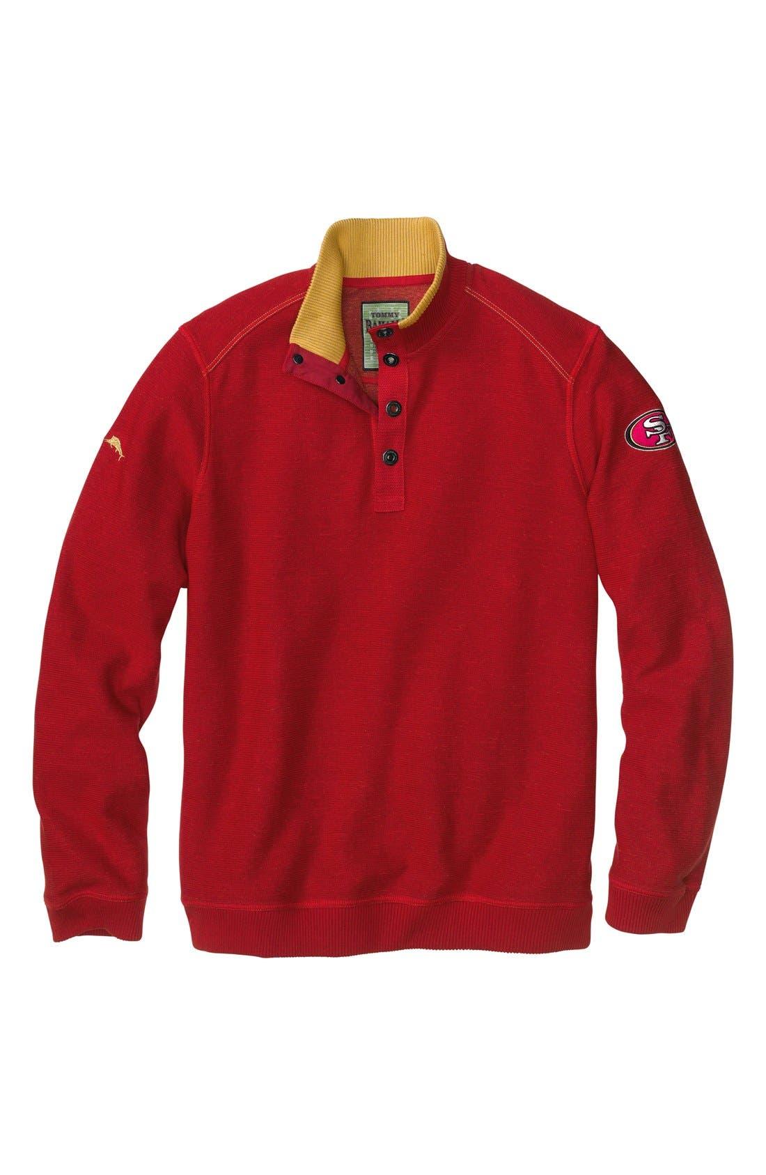 Alternate Image 4  - Tommy Bahama 'San Francisco 49ers - NFL Scrimshaw' Pullover